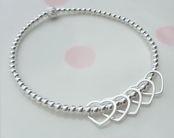 50th Birthday Bracelet Gift For Her Ideas Daughter Sterling Silver 50