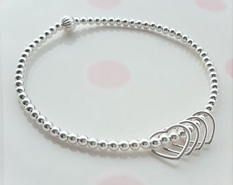 40th Birthday Bracelet Gift For Her Ideas Daughter Sterling Silver 40
