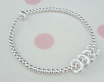 40th Birthday Bracelet Gift For Her Ideas Daughter Sterling Silver