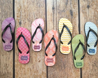 f5eda1be42c937 Personalized Flip Flops - Custom Pattern
