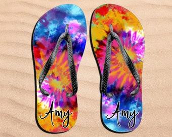 Boho Flip Flops Beach shoes Ethnic Hippies Flip-Flops Tropic Sea summer footwear open summer shoes beach slippers Globpen GP3611FF