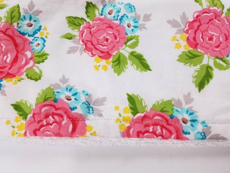 Floral Print Hooded Bath Towel