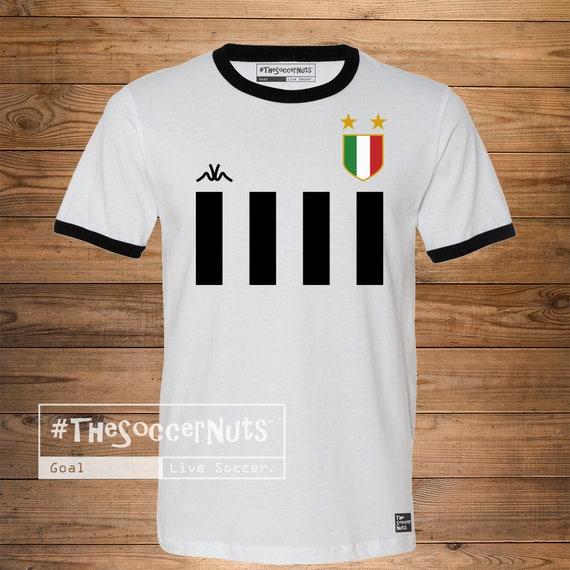 8851fce78 Juve Retro Jersey Soccer Tshirt TheSoccerNuts Soccer