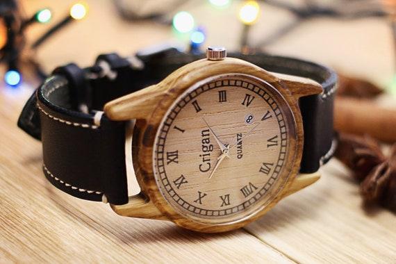 Holz armbanduhren herren