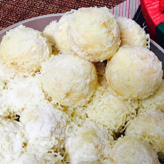 BESTSELLER Cheese or Single Filling Ensaymada Balls (Filipino Brioche) 2 dozens