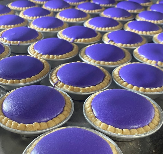 Ube Cheese Tarts 8 ct, Use coupon code IWILLPICKUP for pick-up orders