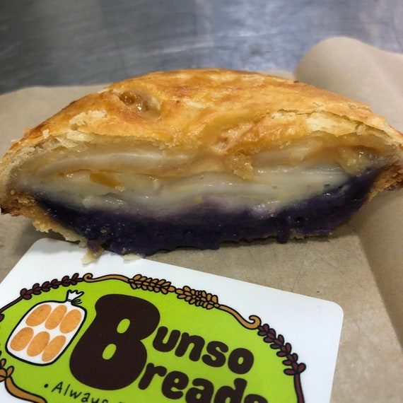 """Ube Buko Pie 9"""" (Large), Use coupon code IWILLPICKUP for pick-up orders"""