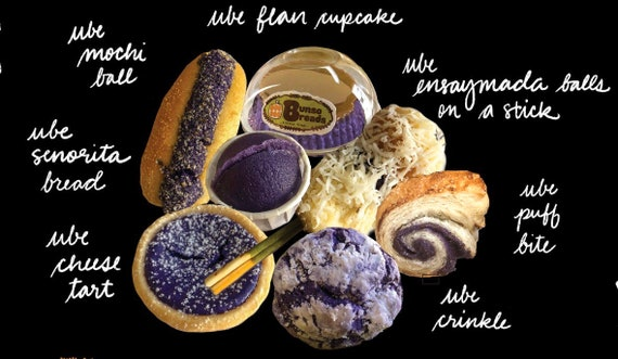 Ube CAKE Box Sharing Size 17 ct - check item details for list of contents, Use coupon code IWILLPICKUP for pick-up orders