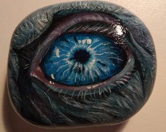 The eye of the king of the White Walkers