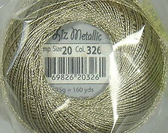 Lizbeth Metallic Thread: #326 Frappé