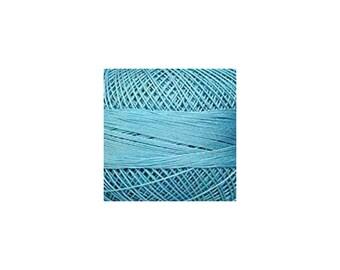 Lizbeth Thread Size 20 Solid: #661 Country Turquoise Medium