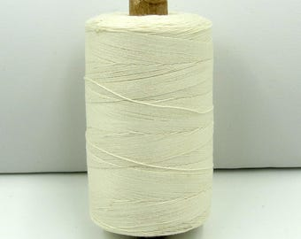 Valdani 35wt. Cotton Thread - #4 Ivory