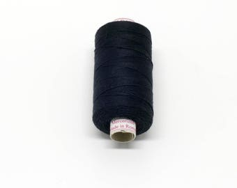 Valdani 50wt. Cotton Thread - #1 Black