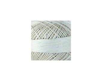 Lizbeth Thread Size 20 Solid: #603 Ecru