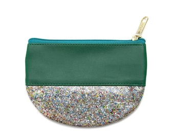 Glitter & Vinyl Notions Pouch