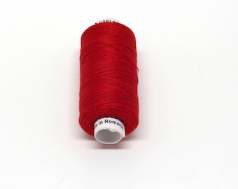 Valdani 60wt. Cotton Thread - #76 Christmas Red