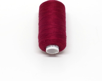 Valdani 60wt. Cotton Thread - #78 Rusty Burgundy