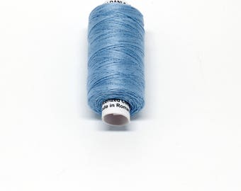 Valdani 60wt. Cotton Thread - #100 Denim Light
