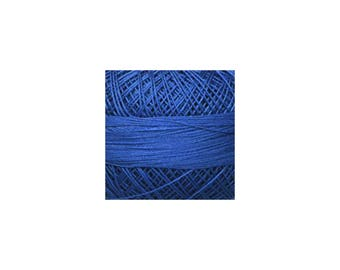 Lizbeth Thread Size 20 Solid: #656 Wedgewood Dark