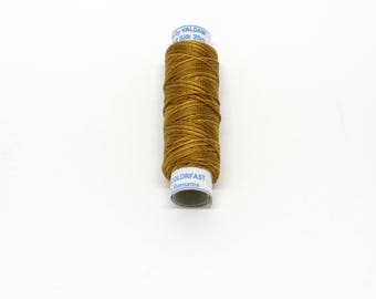 Valdani Luxury Pearl Silk Thread - #S217 Silk Pumpkin