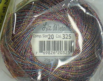 Lizbeth Metallic Thread: #325 Gem Stone