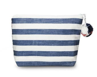 Blue Stripe and Falseria Bag