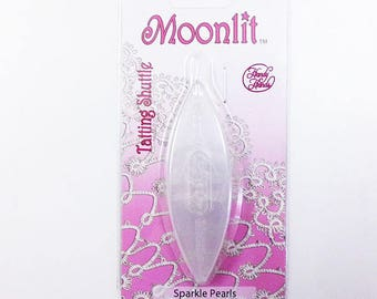 Moonlit Tatting Shuttle: Sparkle Pearls