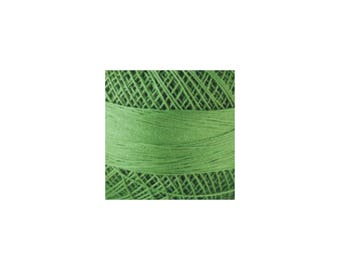 Lizbeth Thread Size 20 Solid: #684 Leaf Green Medium
