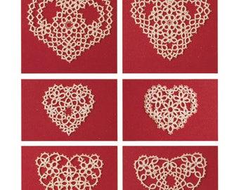 Tatting Hearts, by Teri Dusenbury (Tatting Patterns)