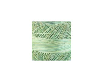 Lizbeth Thread Size 20 Variegated: #138 Leafy Greens