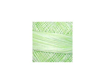 Lizbeth Thread Size 10 Variegated: #187 Green Ice
