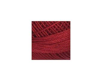 Lizbeth Thread Size 80 Solid: #670 Victorian Red