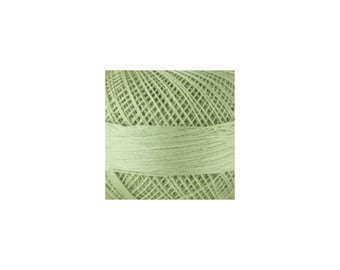 Lizbeth Thread Size 20 Solid: #683 Leaf Green Light