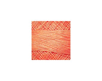 Lizbeth Thread Size 10 Solid: #706 Sunkist Coral