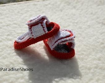 554c42cd85d crochet nike,crochet jordan hydro 3 shoes, crochet sandals baby, crochet  sandals jordan hydro 3 , jordan hydro 3