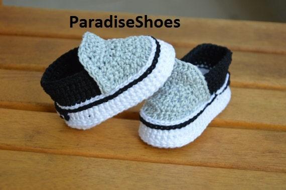 Vans Schuhe häkeln Baby Booties | Etsy