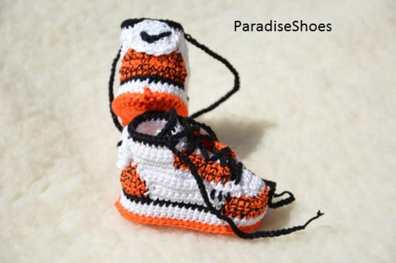 3dd91e3e234 Crochet jordan 3 crochet nike jordan 3 | Etsy