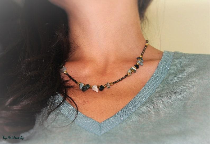 AFRICAN JEWELRY SET,green necklace,african bracelet set jade set,green set,gold african earrings set,african necklace set,vintage brooch