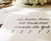 Wedding Calligraphy Envel...