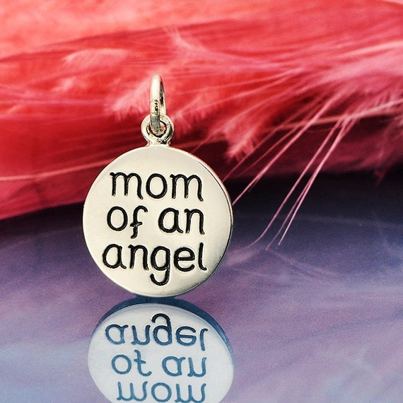 925 Sterling Silver ANGEL OF LOVE With Jump Ring PENDANT CHARM BRACELET 12.5 mm