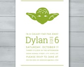 Yoda Star Wars Birthday P...