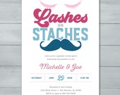 Lashes or Staches Gender ...