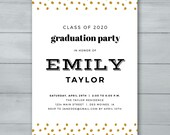 Graduation Party Invitati...