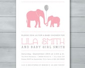 Elephant Girl Baby Shower...