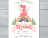 Woodland Fairy Birthday I...