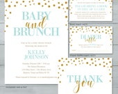Baby Shower Brunch Invita...