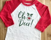 Oh Deer Rudolph Reindeer ...