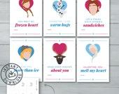 Kids Valentine cards | Fr...