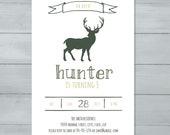 Deer Birthday Party Invit...