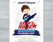 Boy Ninja Invitation  |  ...